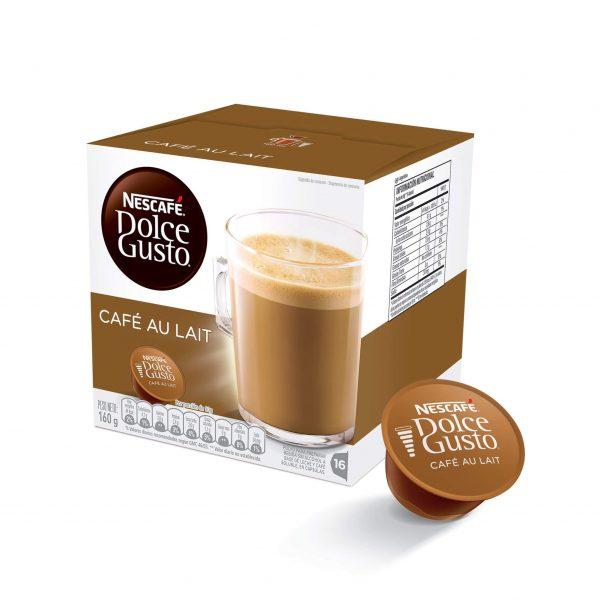 Cápsulas de Café Au Lait Dolce Gusto ¡Promo 25% OFF TODOS LOS DÍAS!