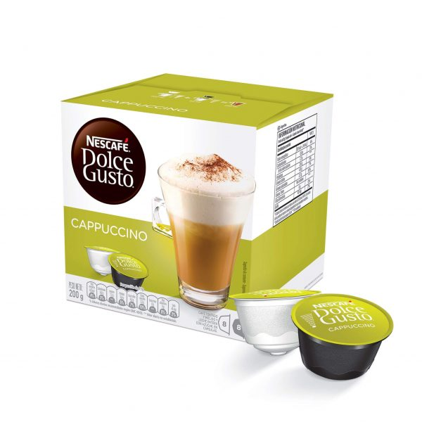Cápsulas de Café Cappuccino Dolce Gusto ¡Promo 25% OFF TODOS LOS DÍAS!