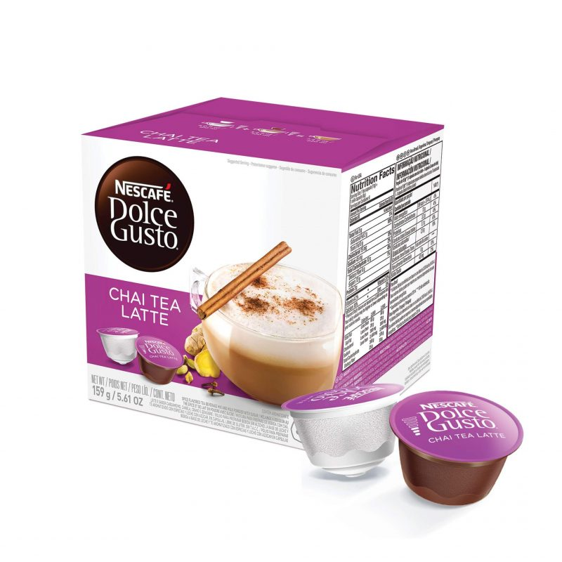 Cápsulas de Café Chai Tea Latte Dolce Gusto ¡Promo 25% OFF TODOS LOS DÍAS!