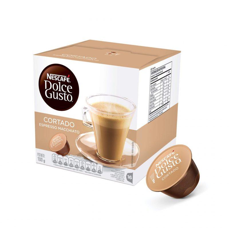 Cápsulas de Café Cortado Dolce Gusto ¡Promo 25% OFF TODOS LOS DÍAS!