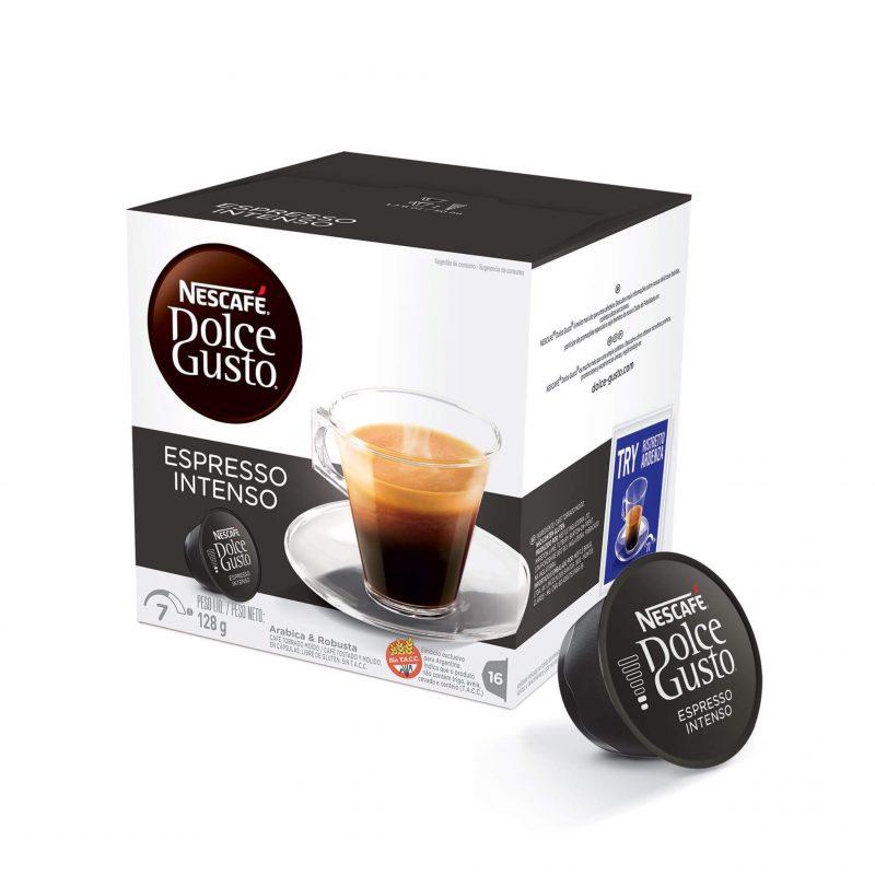 Cápsulas de Café Espresso Intenso Dolce Gusto ¡Promo 25% OFF TODOS LOS DÍAS!