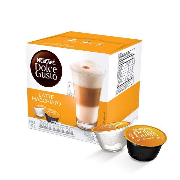 Cápsulas de Café Latte Macchiato Dolce Gusto ¡Promo 25% OFF TODOS LOS DÍAS!