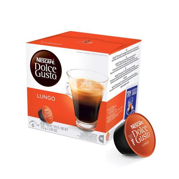Cápsulas de Café Lungo Dolce Gusto ¡Promo 25% OFF TODOS LOS DÍAS!