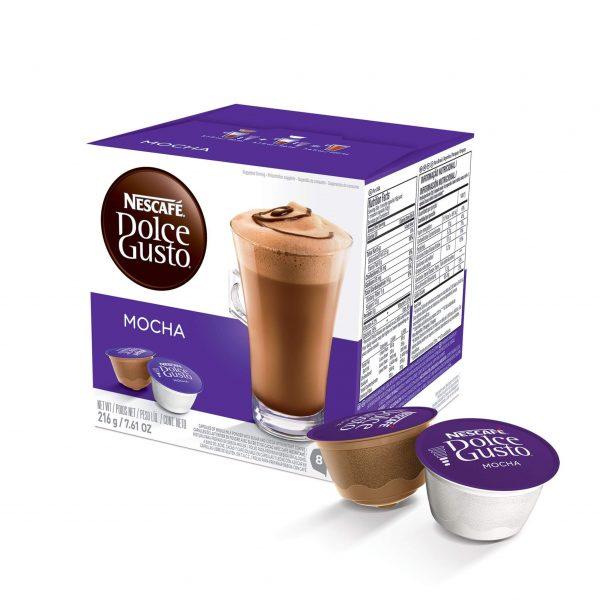 Cápsulas de Café Mocha Dolce Gusto ¡Promo 25% OFF TODOS LOS DÍAS!
