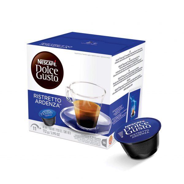 Cápsulas de Café Espresso Ristretto Ardenza Dolce Gusto ¡Promo 25% OFF TODOS LOS DÍAS!