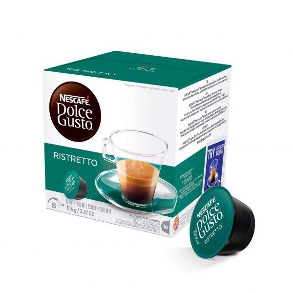 Cápsulas de Café Espresso Ristretto Dolce Gusto ¡Promo 25% OFF TODOS LOS DÍAS!