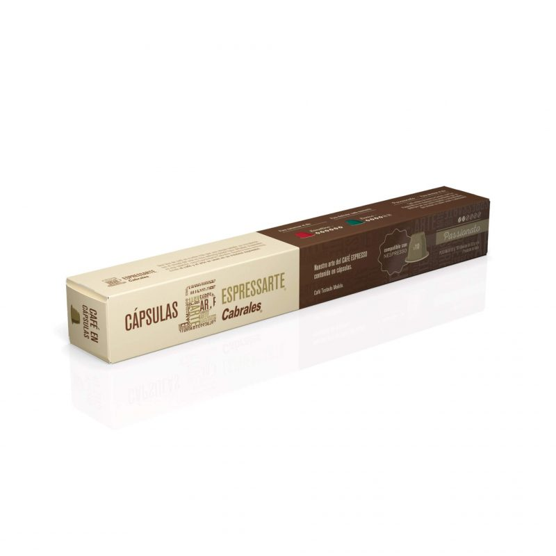 Cabrales Passionato Promo 10% OFF Nespresso Compatibles