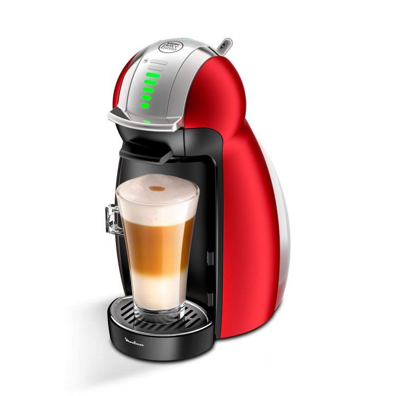 Máquina de café Genio Metal Red Nescafé Dolce Gusto 35% OFF