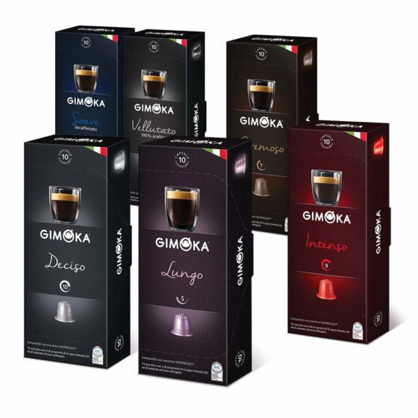 Pack Gimoka café cápsulas Nespresso compatibles x 120 cápsulas