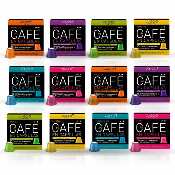 Pack cápsulas café Viaggio x100 - Promo 12% OFF