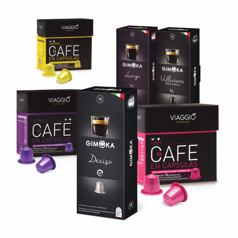Cápsulas de café Gimoka Viaggio 60 cápsulas