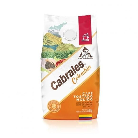 Café tostado molido Cabrales Colombia