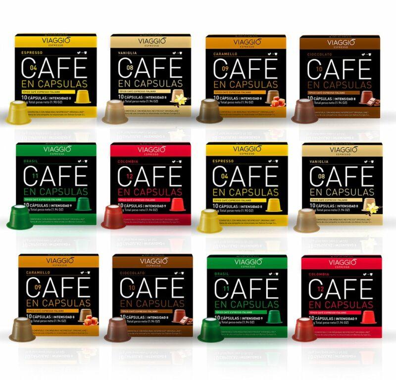 Pack cápsulas café Viaggio x50 - Promo 10% OFF