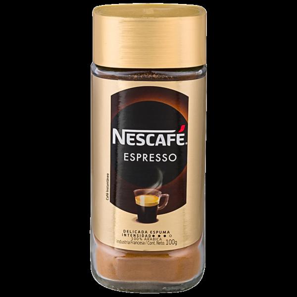 Nescafé Espresso Instantáneo 100gr.