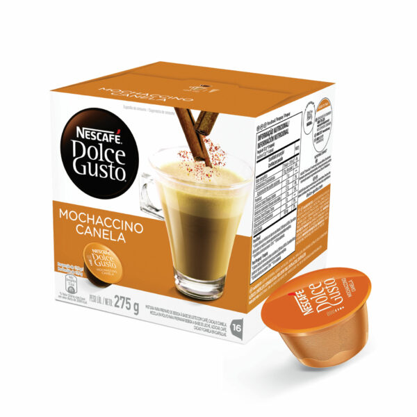 Cápsulas de Café Mochaccino Canela Dolce Gusto 20% OFF