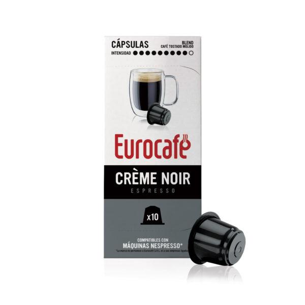 Cápsulas de Café compatibles con Nespresso Creme Noir - Eurocafé