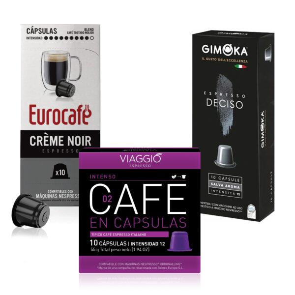 Pack Intense - Cápsulas Nespresso compatibles - Promo