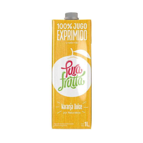 Jugo de naranja Pura Frutta 100% exprimido