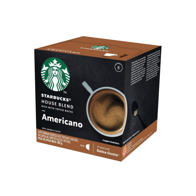 Cápsulas Americano Starbucks - Dolce Gusto