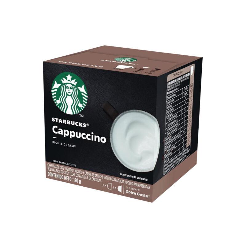 Cápsulas Cappuccino Starbucks - Dolce Gusto