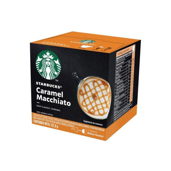 Cápsulas Caramel Macchiato Starbucks - Dolce Gusto