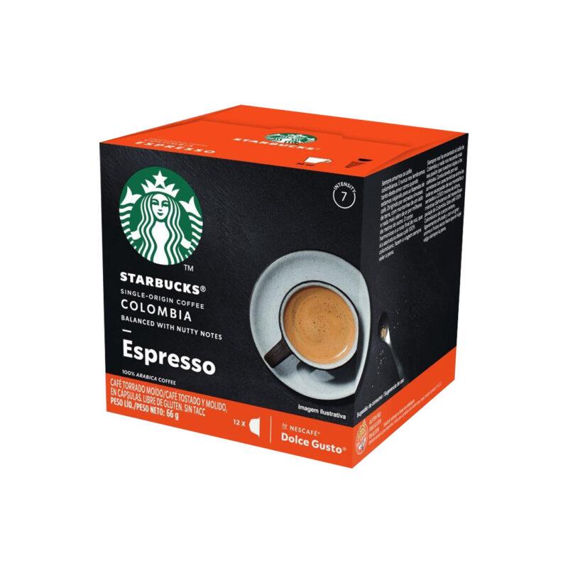 Cápsulas Espresso Colombia Starbucks - Dolce Gusto
