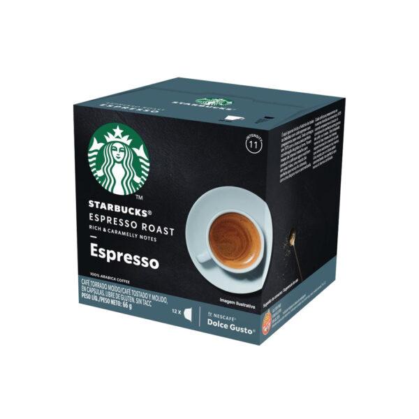 Cápsulas Espresso Roast Starbucks - Dolce Gusto