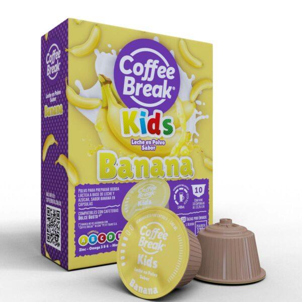 Cápsulas de leche sabor Banana Coffee Break - Cápsulas Dolce Gusto compatibles