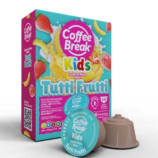 Cápsulas de leche sabor Tutti Frutti Coffee Break - Cápsulas Dolce Gusto compatibles